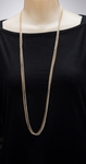 Necklace Earring Set gold French hook gold and silver multi chain drop and multi chain and crystal necklace
