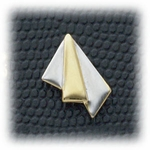 Pierced earrings posted Gold Arrow Two-tone