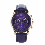 watch rose gold purple face and band