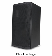 "ADJ ATX-15W 15"" 2-way active PA speaker with wireless stereo linking and 1000W Dynamic Power. - click to enlarge"