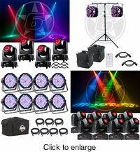 ADJ LIGHTING PACKAGES - click to enlarge