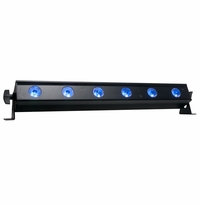 ADJ UB 6H 1/2-meter Linear fixture with six 10 Watt HEX (RGB: 6-IN-1) LEDs