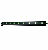 ADJ UB 9H 1-meter Linear fixture with nine 10 Watt HEX (RGB: 6-IN-1) LEDs