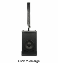 AMERICAN AUDIO STK-106W Active Speaker System with Stereo Bluetooth and mixer. - click to enlarge
