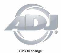 AMERICAN DJ DS4CC Curve connector for DS4. convex/concave 15 degree - click to enlarge