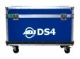 AMERICAN DJ DS4FC10 10 pc flight case for DS4