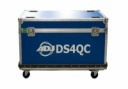 AMERICAN DJ DS4QCFC10 10 pc flight case for DS4QC quarter circular sections