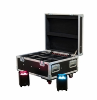 AMERICAN DJ ELEMENT FC Flight case, holds 8 x Element pars, PC100A charging system