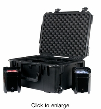 AMERICAN DJ ELEMENT PC6 New cases design which holds six Element Pars - click to enlarge