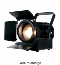 AMERICAN DJ ENCORE FR150Z The new Encore FR150Z Fresnel is a soft edged lighting source with a 130 watt LED engine, - click to enlarge