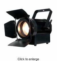 AMERICAN DJ ENCORE FR50Z The new Encore FR50Z Fresnel is a soft edged lighting source with a 50 watt LED engine - click to enlarge