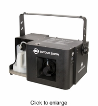 AMERICAN DJ ENTOUR SNOW High powerred snow machine, dmx, built in remote with timer - click to enlarge