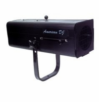 AMERICAN DJ FS-1000 Followspot w/575W halogen lamp WITHOUT the stand. Lamp: ZB-GLA