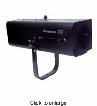 AMERICAN DJ FS-1000 Followspot w/575W halogen lamp WITHOUT the stand. Lamp: ZB-GLA - click to enlarge