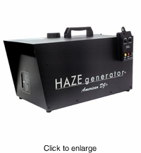 AMERICAN DJ HAZE GENERATOR Heaterless hazer machine. Enhances special effects light beams. - click to enlarge