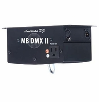 AMERICAN DJ MB-DMXII Heavy duty DMX mirror ball motor. AC power input for pinspot.