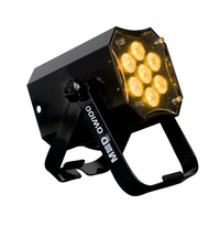 AMERICAN DJ MOD QW100 Modular design QUAD par, 7 x15 watt RGBW LEDs, includes frost filter with three different beam angles