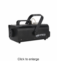 AMERICAN DJ VF1100 Value series 1000 watt fogger, 8000 cubic ft per minute, includes wired remote - click to enlarge