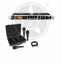 Behringer Voice Effect Package w/ FX2000 Voice Effects Processor & 3-Pack Behringer Microphone
