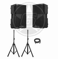 "Cerwin-Vega! CVE-10 Powered 10"" DJ Speaker Package"