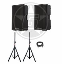 "Cerwin-Vega! CVE-12 Powered 1000-Watt 12"" Speaker Package"