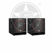 "Cerwin-Vega! CVi-118S Double 18"" Passive 600-Watt Subwoofer Package"