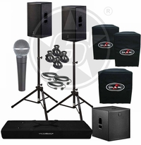 D.A.S. Action 15A Powered Speakers & Action 18A Subwoofer Package