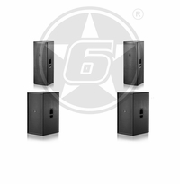 "D.A.S. Action Passive Live Sound Package w/ (2) Action 215 Passive Dual 15"" Speakers & (2) Action 218 Passive Dual 18"" Subwoofers"