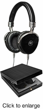 FLOYD ROSE AUDIO FR-18 BK Wired Wooden Headphones (Black) - click to enlarge
