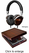 FLOYD ROSE AUDIO FR-18 M Wired Wooden Headphones (Mahogany) - click to enlarge