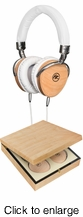 FLOYD ROSE AUDIO FR-18 W Wired Wooden Headphones (Oak) - click to enlarge