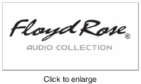 FLOYD ROSE AUDIO HEADPHONES - click to enlarge