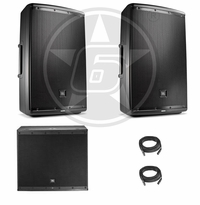 JBL EON 615 & EON 618 DJ Package