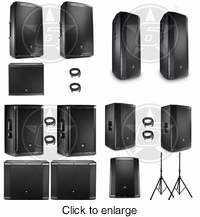 JBL Packages - click to enlarge