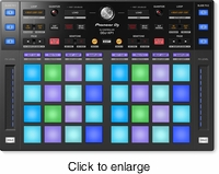 PIONEER DDJ-XP1 ADD-ON CONTROLLER FOR REKORDBOX DJ & DVS - 32 PADS - click to enlarge