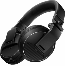 PIONEER HDJ-X5-K DJ HEADPHONES (BLACK)