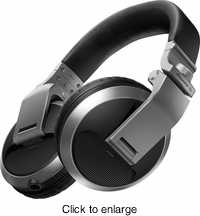 PIONEER HDJ-X5-S DJ HEADPHONES (SILVER) - click to enlarge
