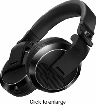 PIONEER HDJ-X7-K PROFESSIONAL DJ HEADPHONES (BLACK) - click to enlarge