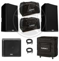 QSC K12.2 & KW181 Live Sound DJ Package