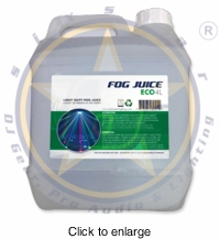 SIX STAR 4L ECO Premium Light Duty Fog Juice - click to enlarge