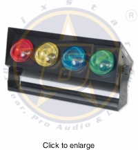 SIX STAR E137 Color Bar Red, Blue, Green and Yellow - click to enlarge
