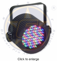 SIX STAR Electro 86 LED small wash light - click to enlarge