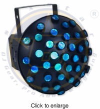 SIX STAR Electro Swarm Multi Beam RGB 1w x6 Mushroom Effect - click to enlarge