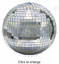 SIX STAR EM8 8 Inch Mirror Ball - click to enlarge