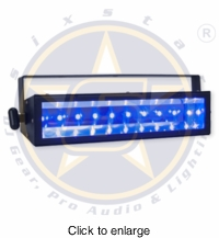 SIX STAR EUV10 High Output LED UV Effect 10W x10 LED's - click to enlarge