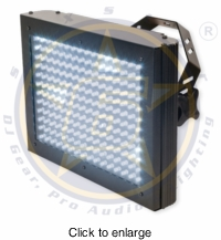 SIX STAR Flash 192 High Powered LED DMX Strobe - click to enlarge