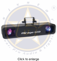 SIX STAR Mirage LED High Powered LED Mystic Effect 40W - click to enlarge