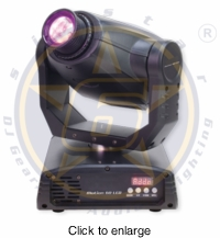 SIX STAR Motion 60 LED Versatile & Low Profile 60W LED Moving - click to enlarge