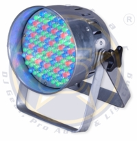 SIX STAR Electro 56 LED Par 56 up light, polished aluminum