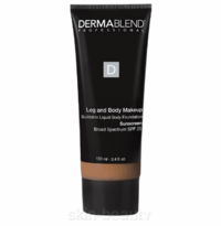 Dermablend Leg And Body Makeup SPF 25 - 3.4 oz - Tan Honey 45W (26154)